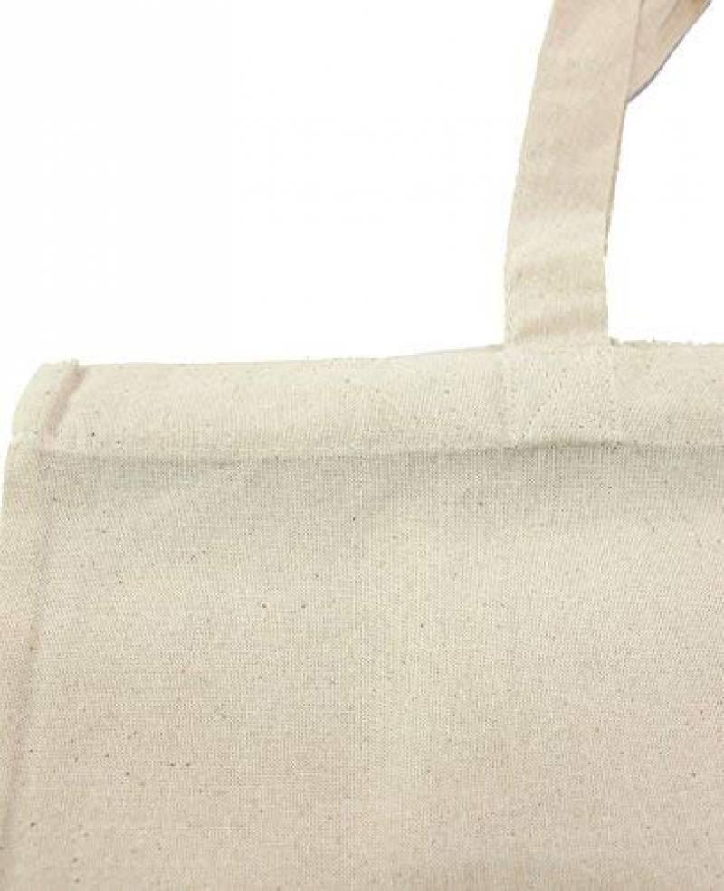 Sac en coton jute Sacs vierges avec une longue anse Naturel 38/x 42/cm Lot de 25