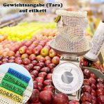 Sacs Réutilisables à Fruits et Légumes,Sac de Provisions en Coton Lot de 4 Sacs à Grille| Sac Alimentaire(1*S, 2*M, 1*L) de la marque HogarTech image 1 produit
