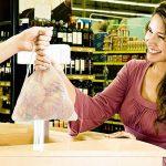 Sacs Réutilisables à Fruits et Légumes,Sac de Provisions en Coton Lot de 4 Sacs à Grille| Sac Alimentaire(1*S, 2*M, 1*L) de la marque HogarTech image 4 produit