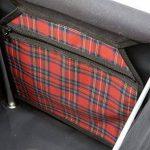 Sholley Chariot Deluxe 'The Balmoral' - Chariot de Courses pliable Motif tartan Rouge et Noir, Caddie de Courses forte, Pousette de marché, 4 roues, 6 roues (Régulier) de la marque Sholley image 2 produit