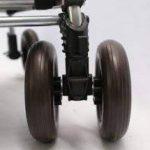 Sholley Chariot Deluxe 'The Balmoral' - Chariot de Courses pliable Motif tartan Rouge et Noir, Caddie de Courses forte, Pousette de marché, 4 roues, 6 roues (Régulier) de la marque Sholley image 4 produit