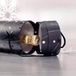 Sigel GB601 Boîte-cadeau laquée noir avec poignée pour bouteille 100 x 100 x 330 mm (Import Royaume Uni) de la marque Sigel image 3 produit