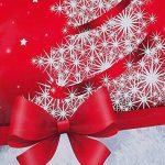 Sigel GT024 Lot de 5 sacs cadeaux Noël pour bouteilles, rouge et blanc de la marque Sigel image 1 produit