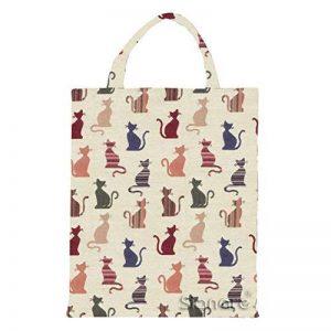 Signare éco-sac à provision réutilisable en toile tapisserie de la marque Signare image 0 produit