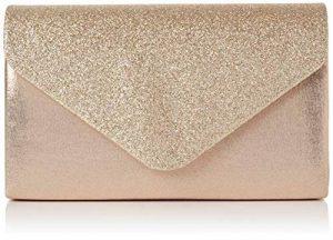 SwankySwans Femme Kelly Paillettes enveloppe Pochette de soirée fête Bal Sac d'embrayage de la marque Swankyswans image 0 produit