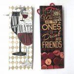 takestop Lot de 3pièces enveloppe enveloppes cadeau pour bouteille 39x 9x 12cm Sacs Sac bouteilles vin mousseux à liqueur couleur aléatoire de la marque takestop image 1 produit