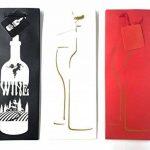 takestop Lot de 3pièces enveloppe enveloppes cadeau pour bouteille 39x 9x 12cm Sacs Sac bouteilles vin mousseux à liqueur couleur aléatoire de la marque takestop image 3 produit