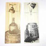 takestop Lot de 3pièces enveloppe enveloppes cadeau pour bouteille 39x 9x 12cm Sacs Sac bouteilles vin mousseux à liqueur couleur aléatoire de la marque takestop image 2 produit