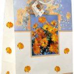 Taunus 99-9080 Lot de 10 sacs cadeaux 32 x 26 x 14 cm (Motifs fleurs) (Import Allemagne) de la marque Taunus Grußkarten image 3 produit