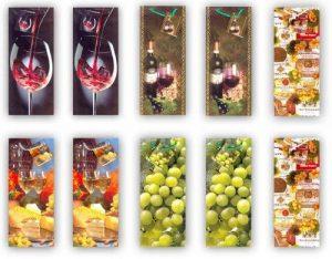 Taunus Grußkarten 99-3004 Lot de 10 pochettes à bouteille Motif vin de la marque Taunus Grußkarten image 0 produit