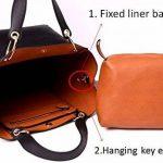 Tibes mode sac à bandoulière en cuir synthétique imperméable sac à main de la marque Tibes image 4 produit