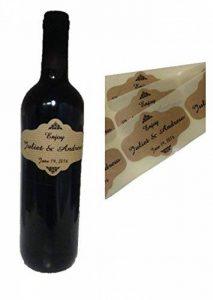 TODOKRAFT 80 étiquettes Personnalisées de Bouteille de vin de la marque TODOKRAFT image 0 produit