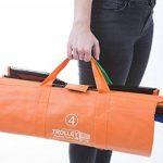 Trolley Bags 4 Sacs à Courses/Commissions avec Poignées Renforcées - Parfait pour Chariot de la marque trolley bags image 2 produit