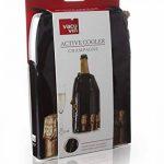 Vacu Vin 38854606 Active Cooler Refroidisseur de Champagne Motif Bouteille Nylon Multicolore 18 x 12 x 12 cm de la marque Vacuvin image 2 produit