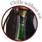Vacu Vin 38854606 Active Cooler Refroidisseur de Champagne Motif Bouteille Nylon Multicolore 18 x 12 x 12 cm de la marque Vacuvin image 3 produit