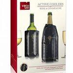 Vacu Vin 3887360 Coffret avec 2 Refroidisseurs 1 à Vin et 1 à Champagne Décor Classic de la marque Vacuvin image 2 produit