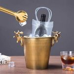 Vordas 2 Pièces Sac de Glace Vin Refroidisseur Cooler avec Poignée pour Les Pubs et Les Restaurants, la Maison, etc de la marque Vordas image 2 produit