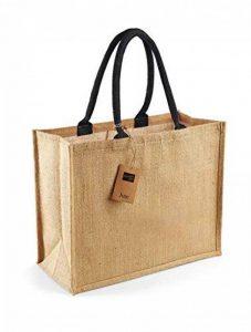 WESTFORD MILL CLASSIQUE jute sac cabas (21 litres) de la marque Westford Mill image 0 produit