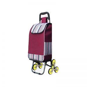 WYYY Chariot Poids léger Caddie Dur à Porter Rabat pour Easy Monter des escaliers (Couleur : 3) de la marque WYYY image 0 produit