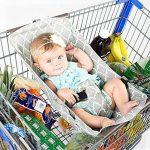 Yiwa Hamac portable de bébé portatif pour le trolley de chariot à provisions de la marque Yiwa image 4 produit